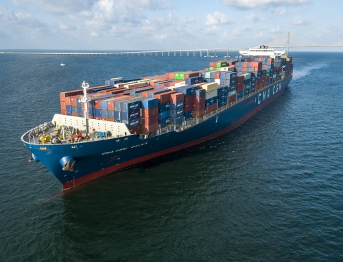 Port Tampa Bay Welcomes its Biggest Container Ship Ever!